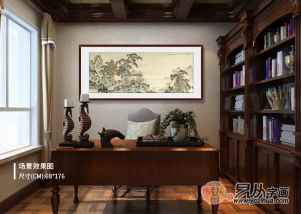 书房适合挂什么画 有特点又有格调的挂画推荐