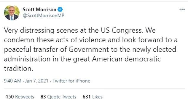 """""""你太弱了""""!莫里森又被自己人骂了,这次还是因为特朗普"""
