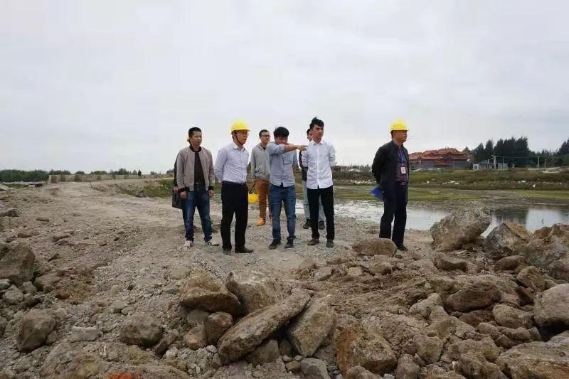 湛江市坡头区领导率队开展岁末年初安全生产督查