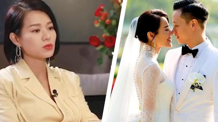 胡杏儿与老公隔空撒糖,自曝双方一见钟情,在一起三个月被求婚