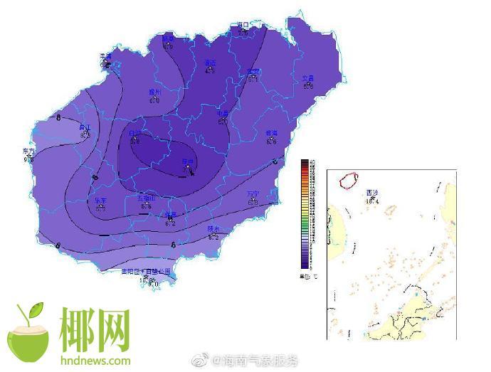 冷出天际!琼中黎母山林场-0.3℃,五指山水满乡出现结霜现象!