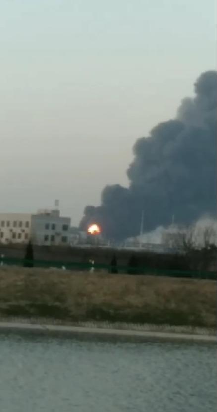 【比特币现金】_南京一公司化工装置发生爆炸起火