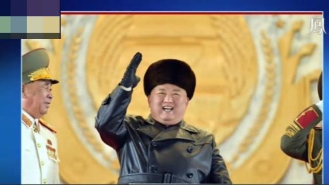 """朝鲜阅兵完整视频:金正恩检阅三军,军队高呼""""誓死拥护!"""""""