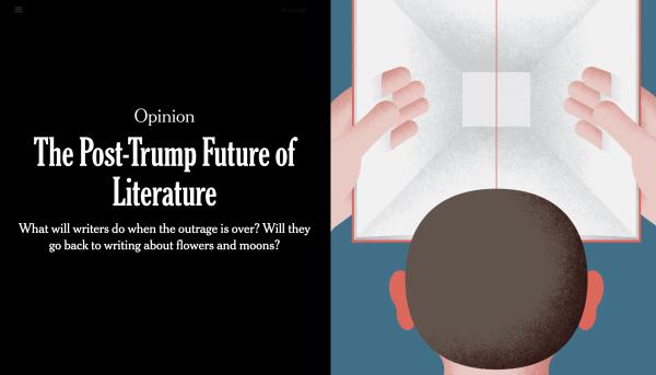《特朗普时代的文学》