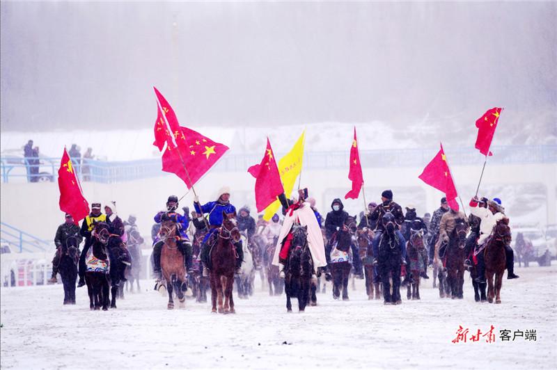 """""""激情冰雪·大美肃北""""冬季那达慕文化旅游节"""