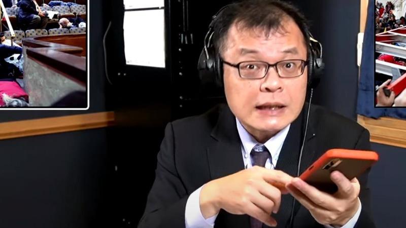 """台网友:军机绕台是国内线,大陆是在""""保护""""民进党"""