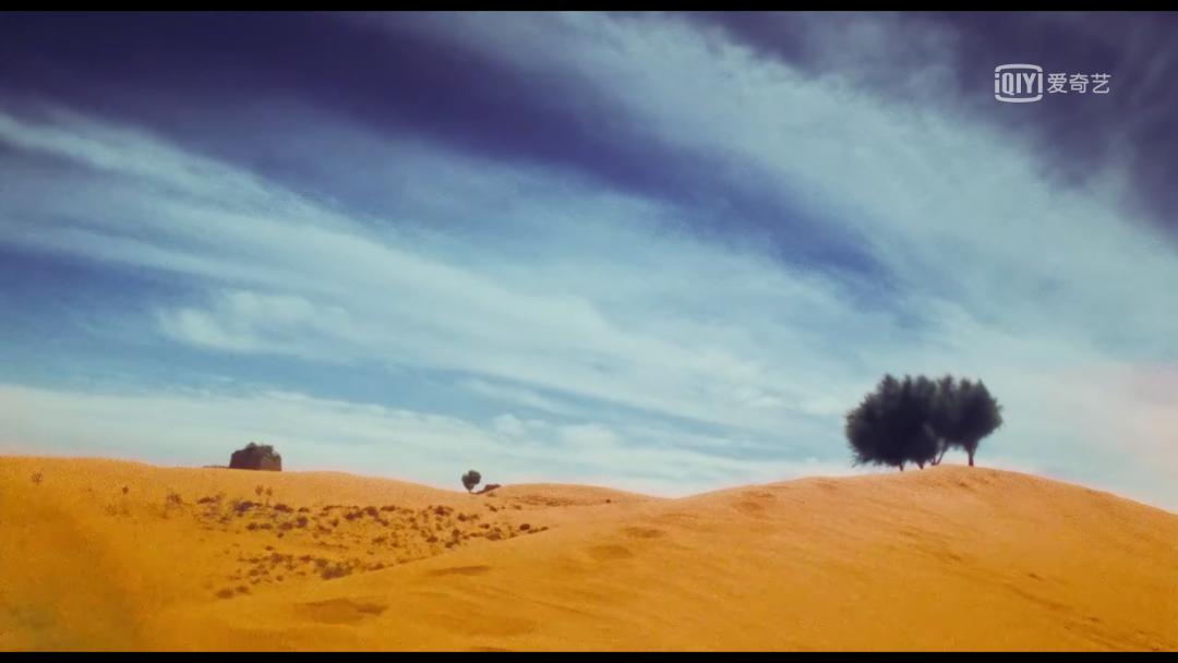 △电影结尾的空镜配上张曼玉的独白,足以让这段拍摄成为经典/《东邪西毒》