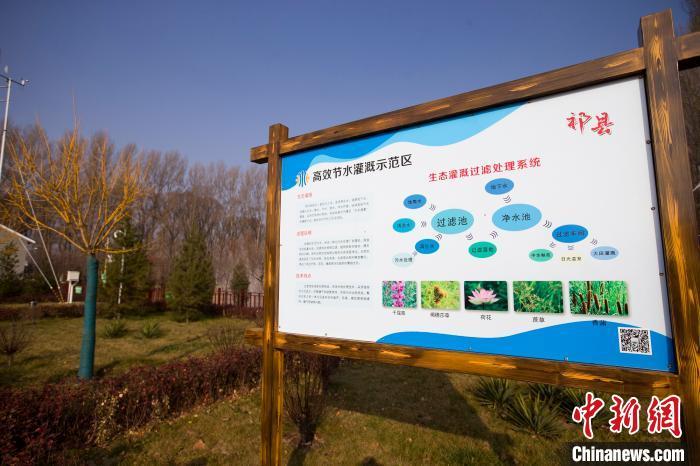 祁县高效节水灌溉示范区。 张云 摄