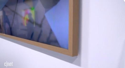 三星发布2021款画框电视:可伪装成墙面艺术品