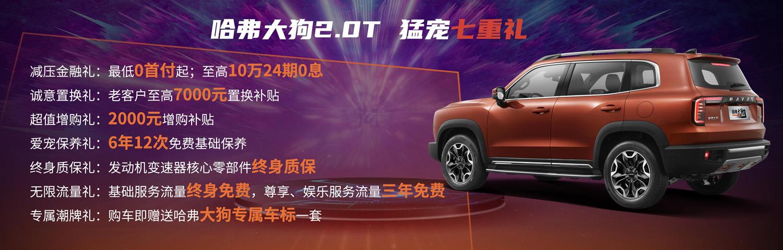 哈弗大狗2.0T四驱版中华田园犬上市 售价15.59万元