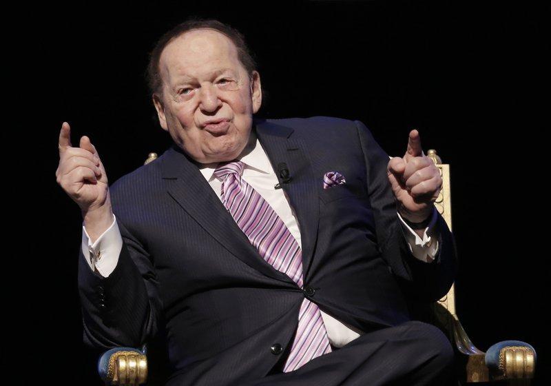 """【【6万欧元】_美国""""赌王""""阿德尔森去世 曾为共和党捐款4亿多美元"""