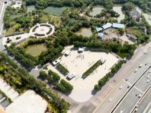 南昌八大山人广场拟建地下公共停车场 设机动车停车位155个