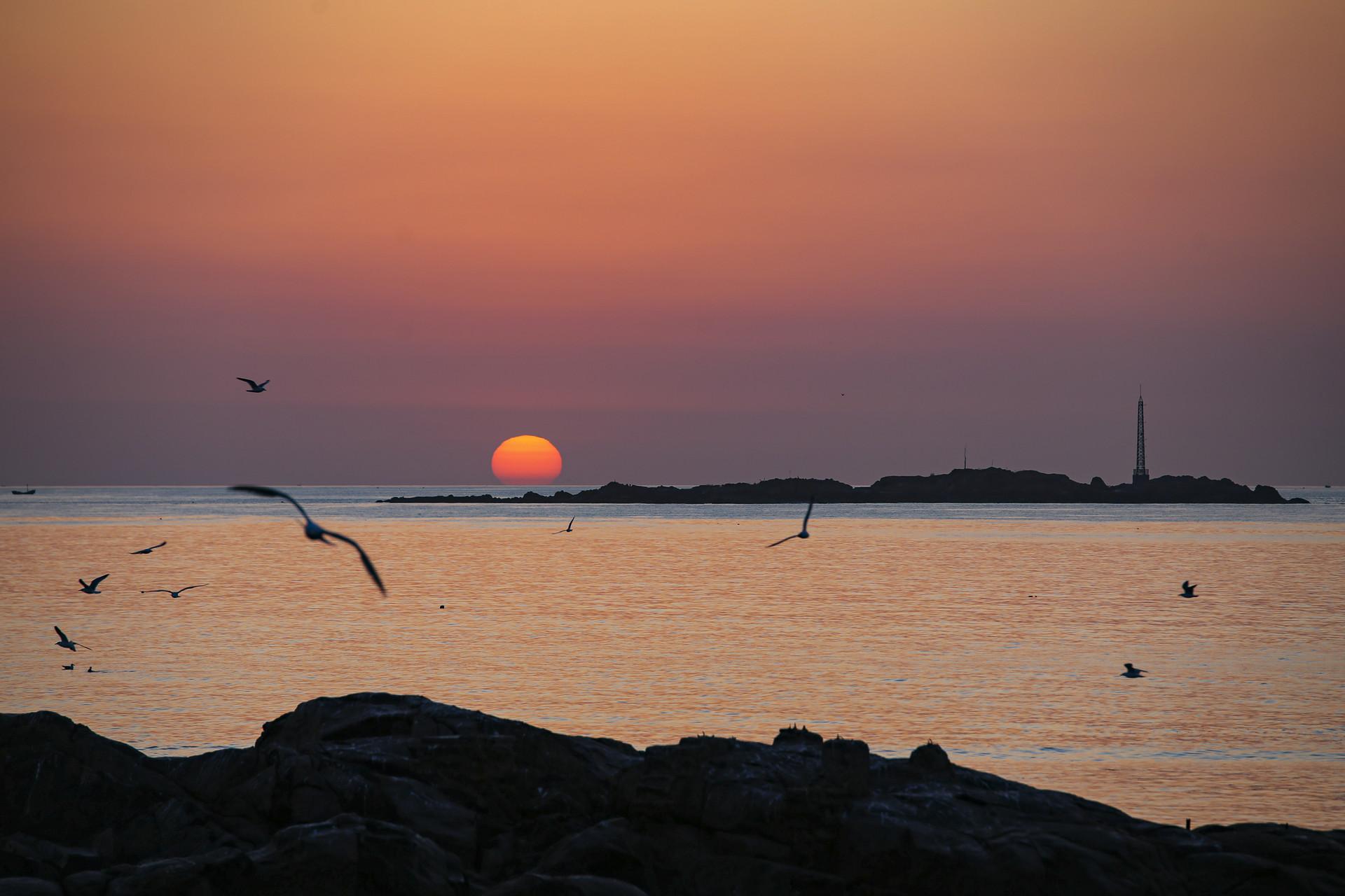 最美青岛 | 波光粼粼...傍晚的前海美如画