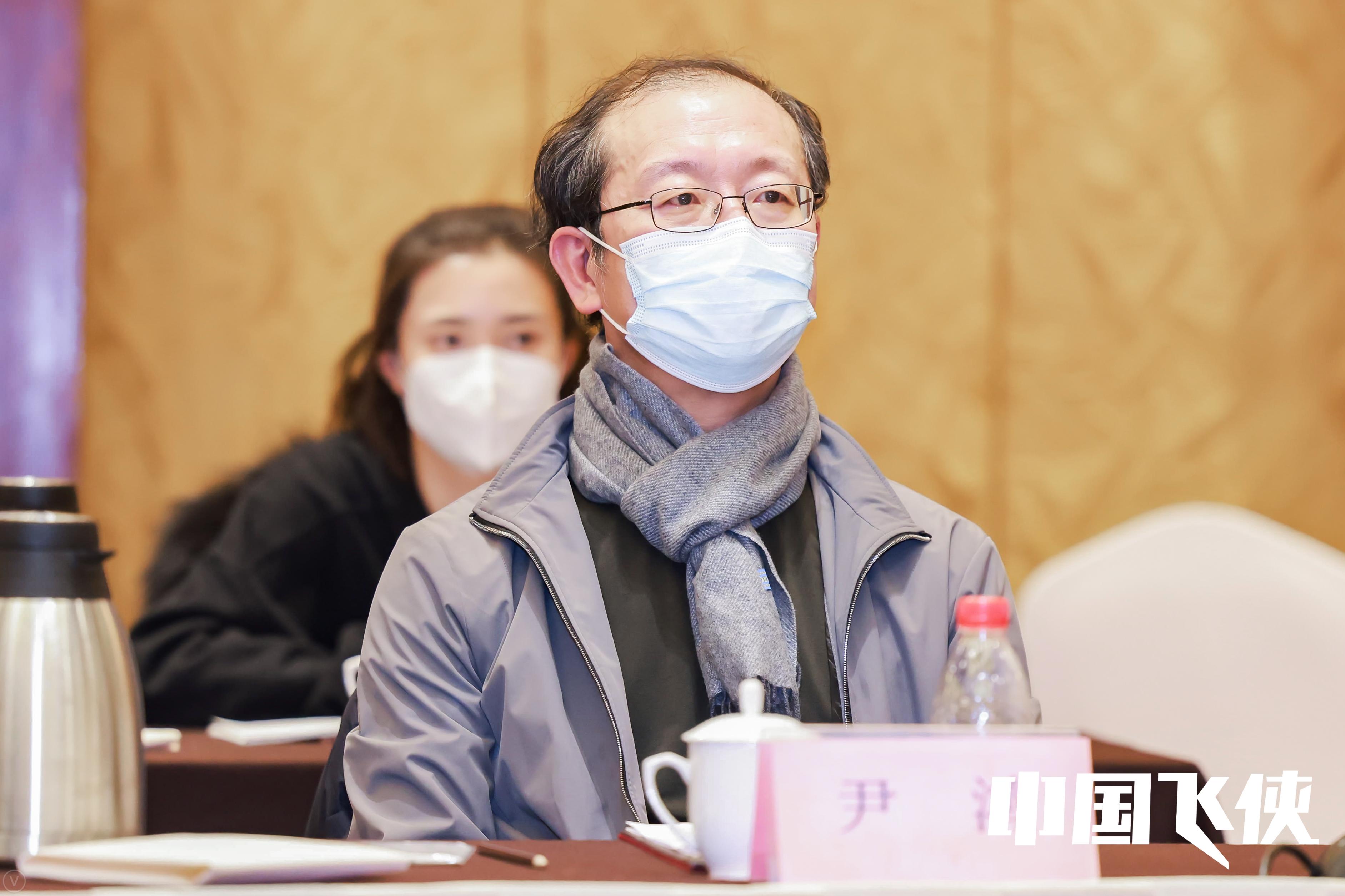 清华大学教授、中国电影家协会副主席、中国文艺评论家协会副主席尹鸿