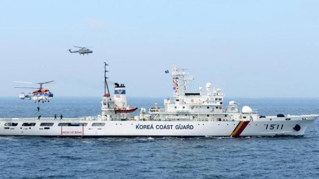 韩日船只对峙 韩外交部:驱逐日方船属正当执法