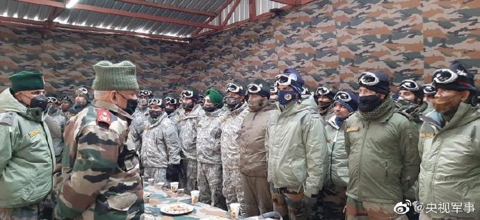 【印度比特币大会】_印度参谋长视察中印边境哨所 随后前往克什米尔