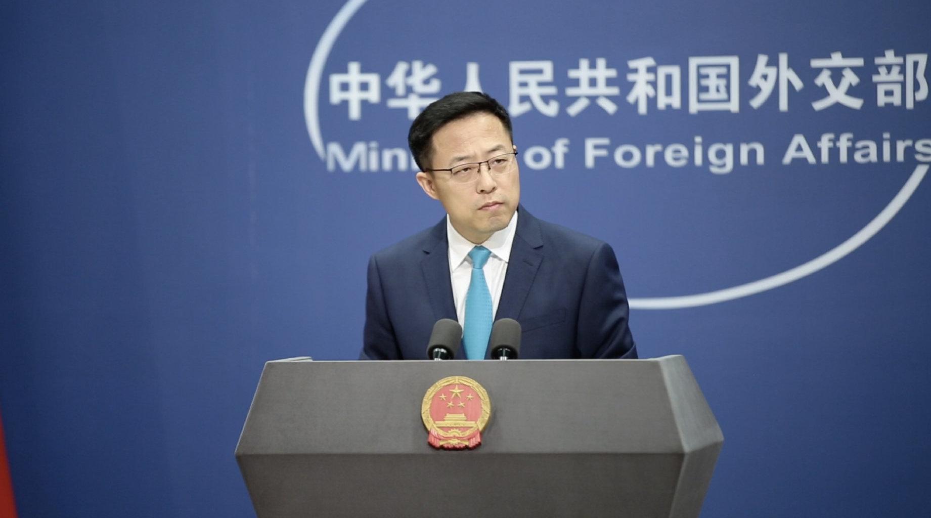 美个别政客胁迫他国禁用中国5G设备 外交部回应