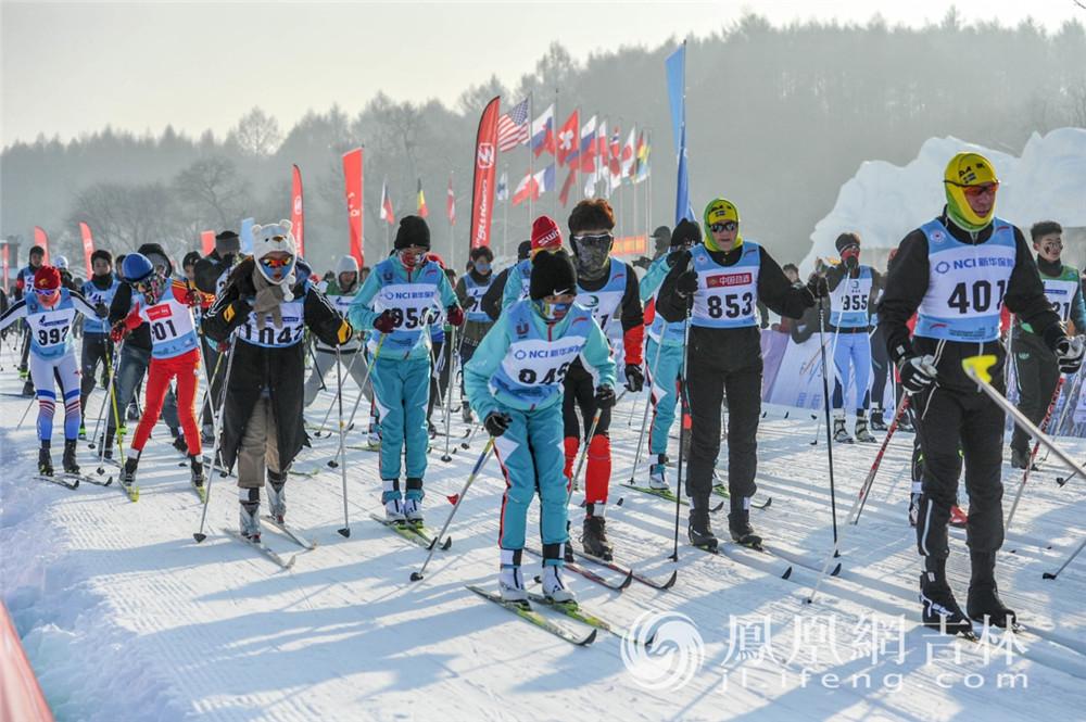 2020中国长春净月潭瓦萨国际滑雪节在长春开赛。梁琪佳摄