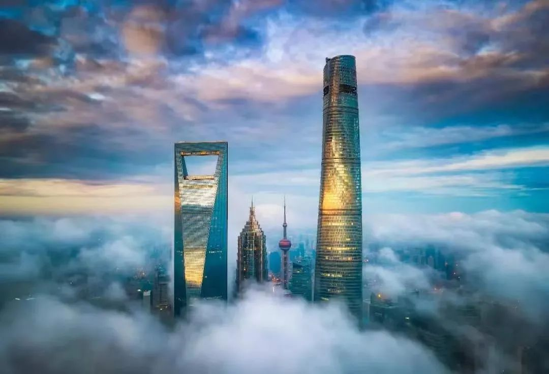 上海东方明珠VS上海中心