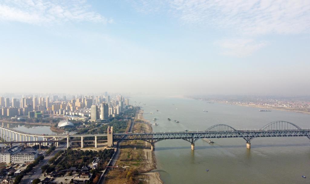 长江干流九江段水质达全国第四位