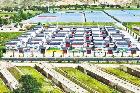 福州市台江区援建的台安新村,让80余户村民住上了新房。新甘肃·甘肃日报通讯员 李丹