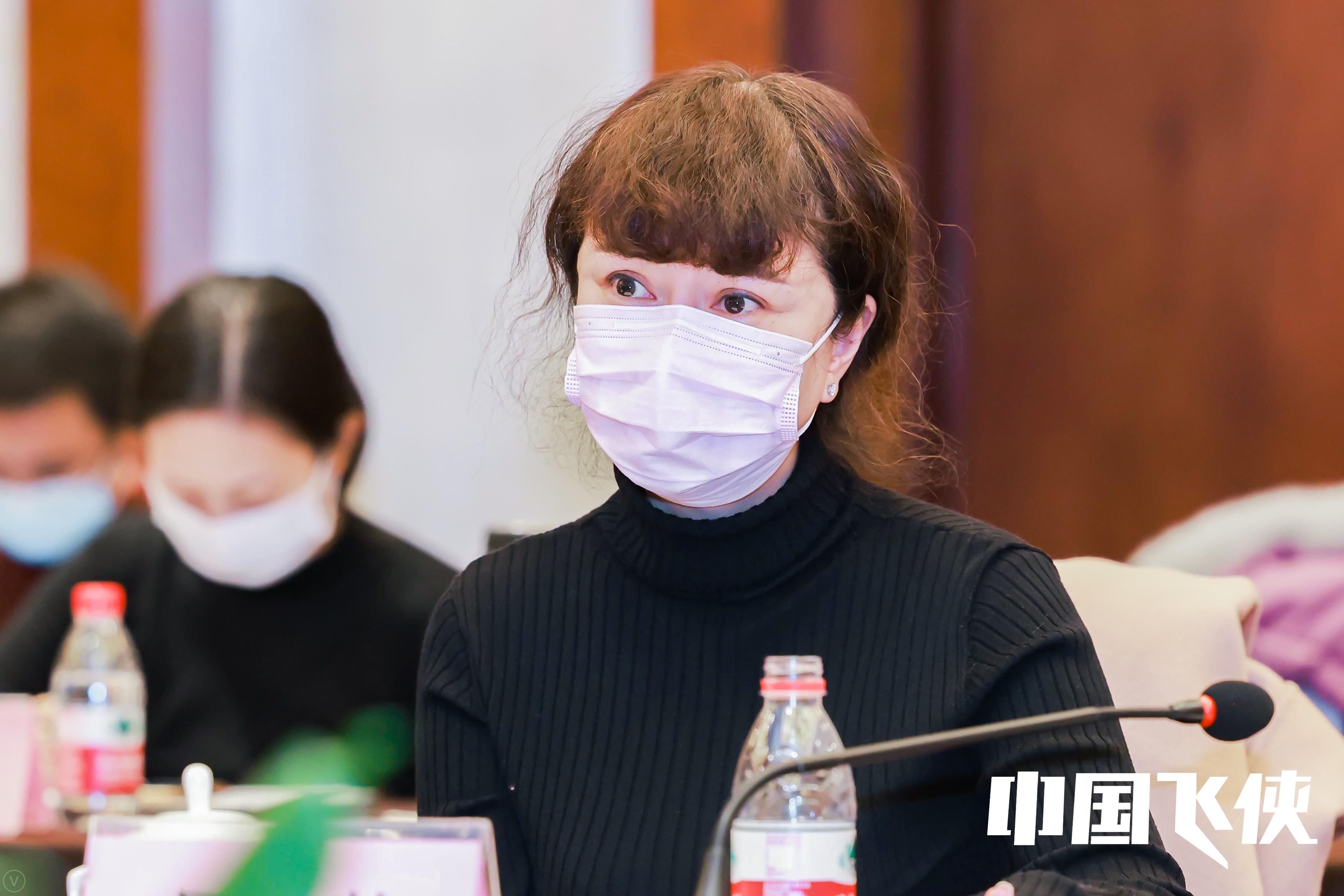 北京电影学院管理学院院长、中国电影家协会网络电影工作委员会联席会长吴曼芳