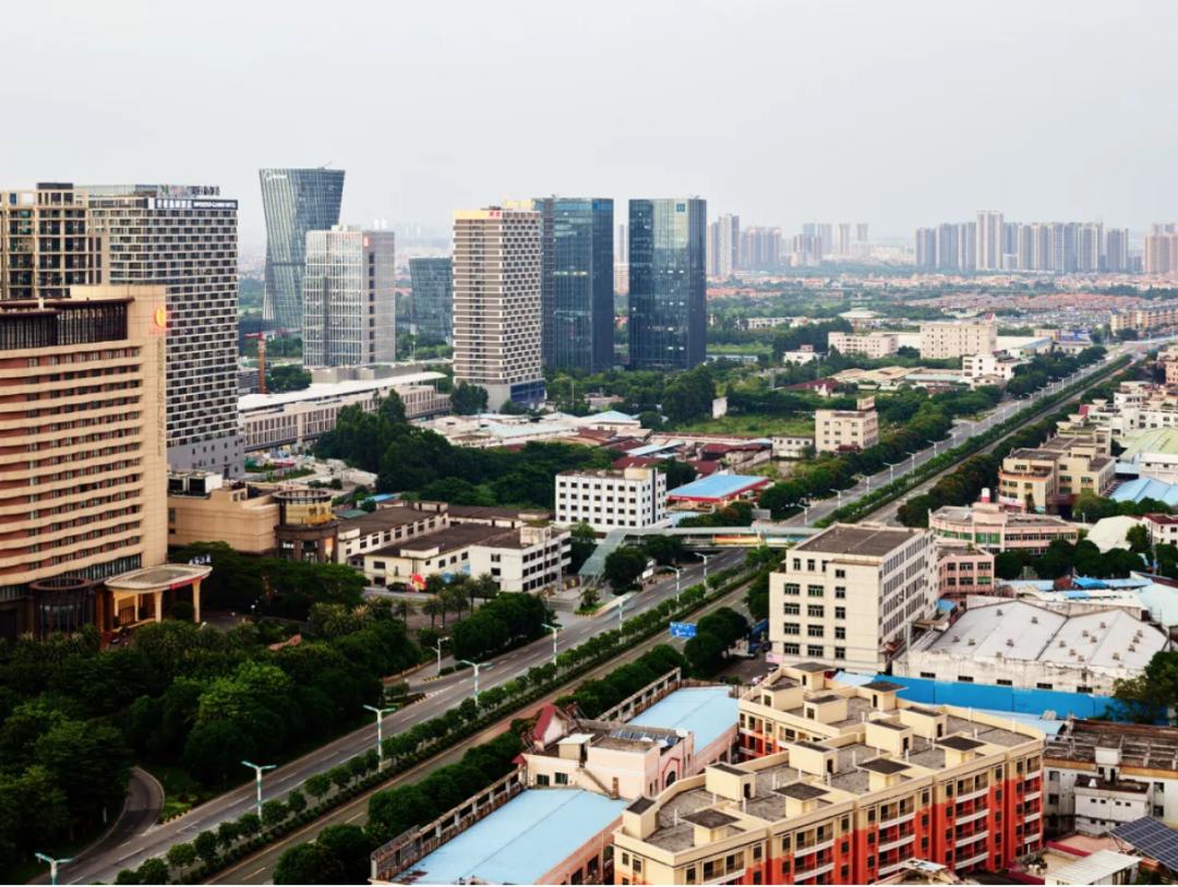 北滘新城。图/网络