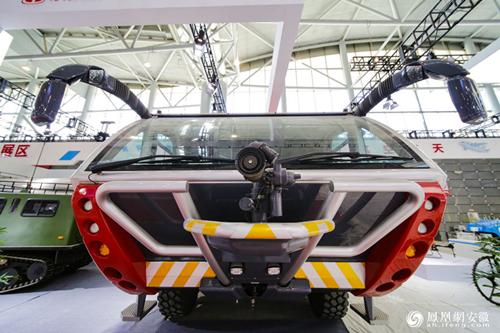 2019世界制造业大会无人驾驶汽车体验区