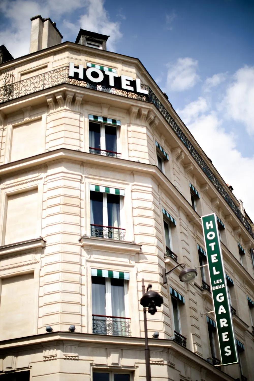 插图 | Hotel Les Deux Gares 版权 | 图片版权归原摄影师或来源机构所有