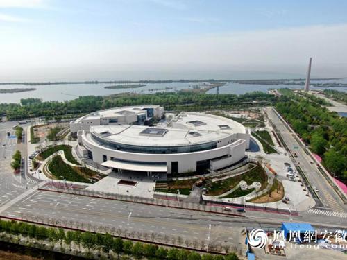 鸟瞰安徽创新馆