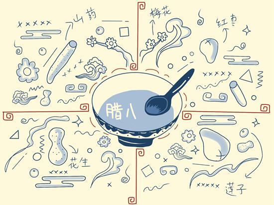 腊八粥视觉中国供图