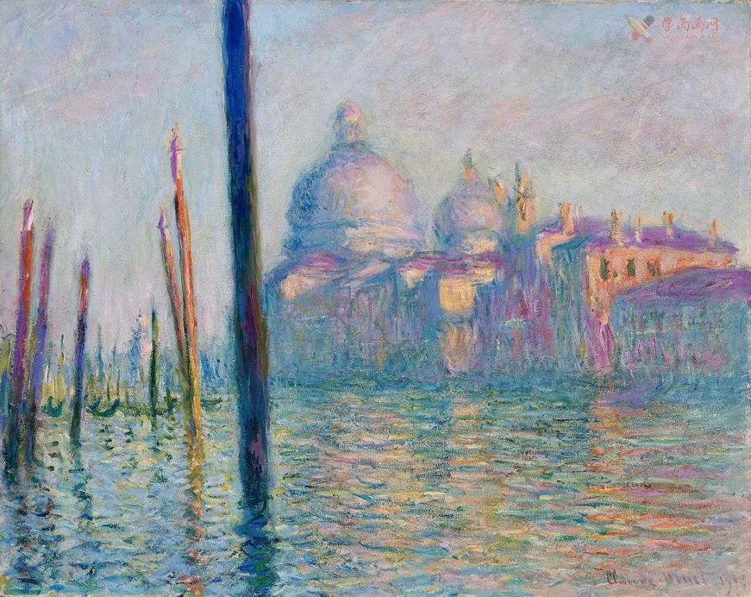 莫奈畫作《威尼斯大運河》