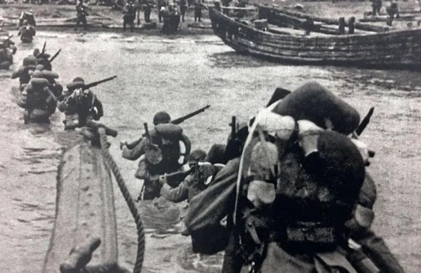 ◆日军在上海登陆