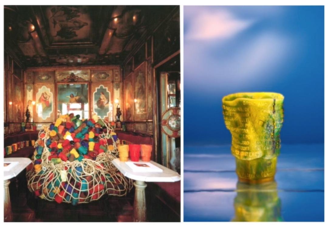 Gaetano Pesce設計的杯子