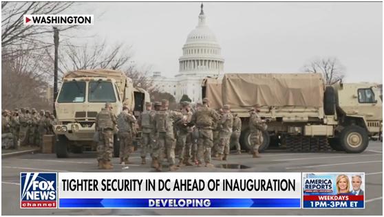 惊人警告!75%国民警卫队支持特朗普,会在就职典礼搞事情?