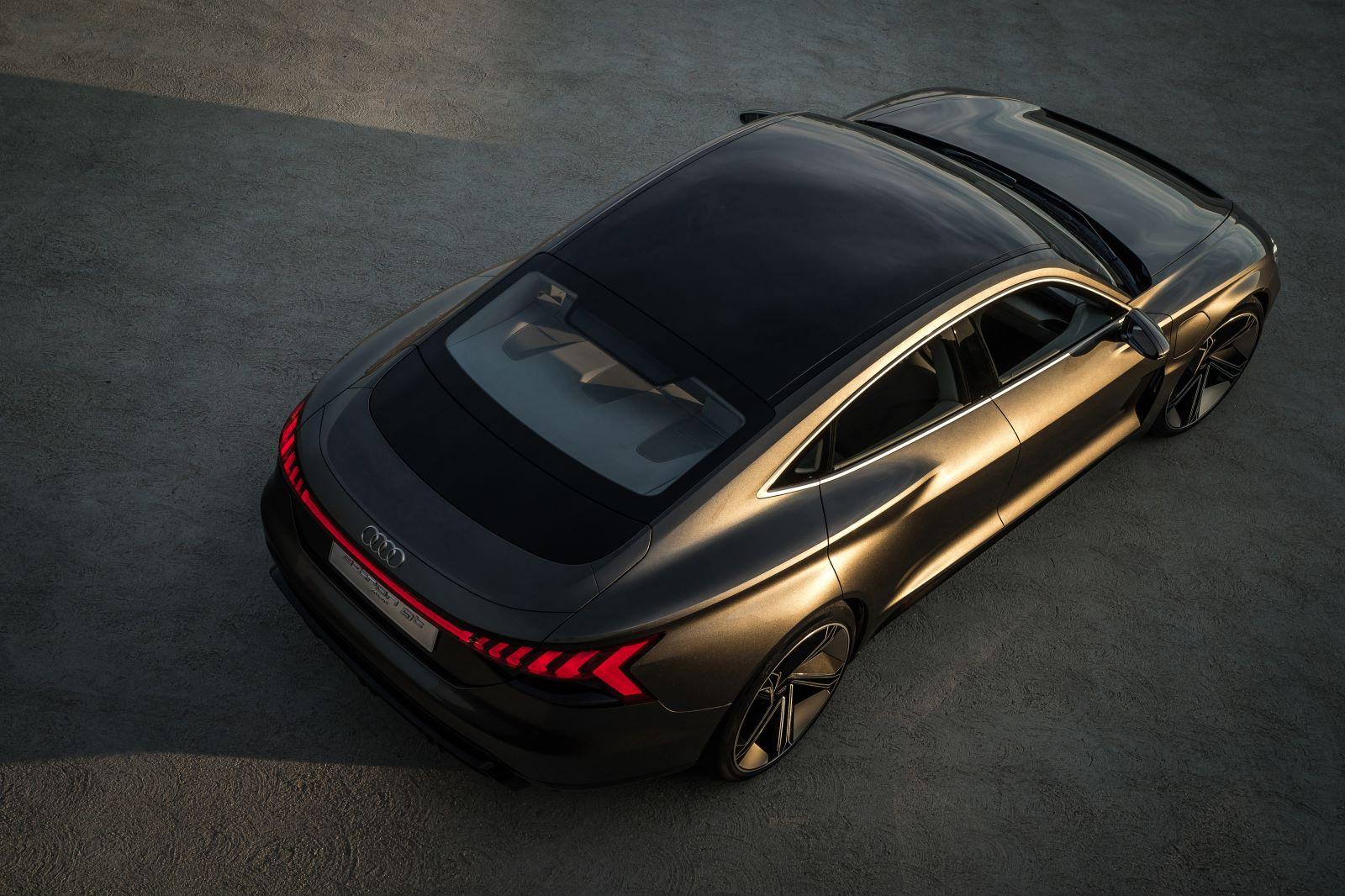 奥迪e-tron GT年内量产上市 开启奥迪运动RS车型电动化之路