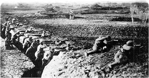 ◆中国军队在罗店战斗中