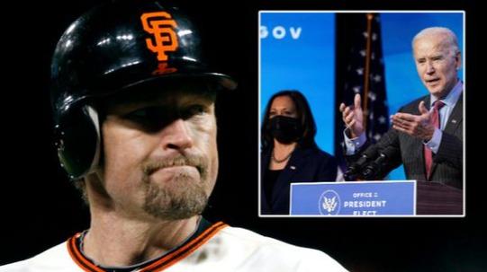 棒球冠军嘲讽新总统拜登脑子有问题:特朗普会回来!