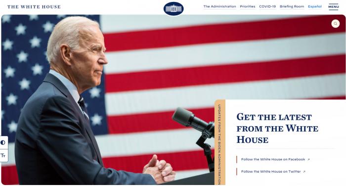 拜登在白宫网站上用秘密信息发出征集程序员的