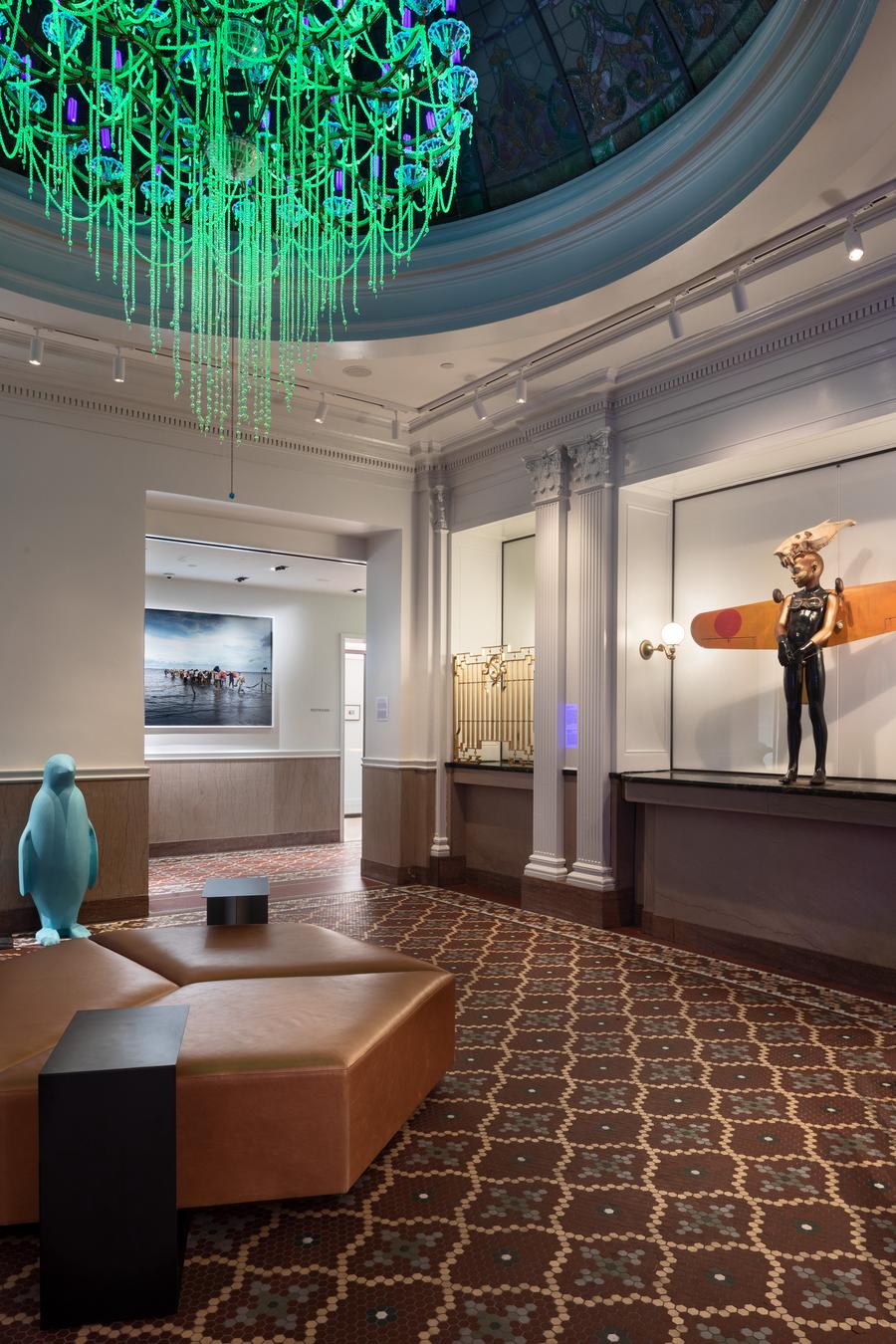 插图 | 21c Museum Hotel ;堪萨斯城 版权 | 图片版权归原摄影师或来源机构所有