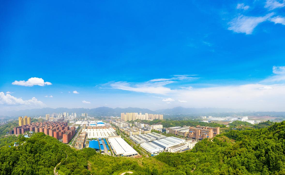 巴南经济园区远景图