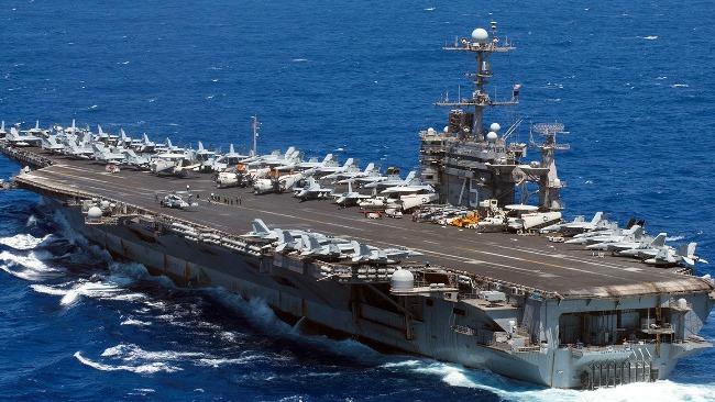 """美航母指揮官:與中國海軍""""互動""""沒問題"""