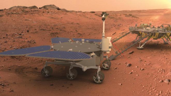 火星车展示