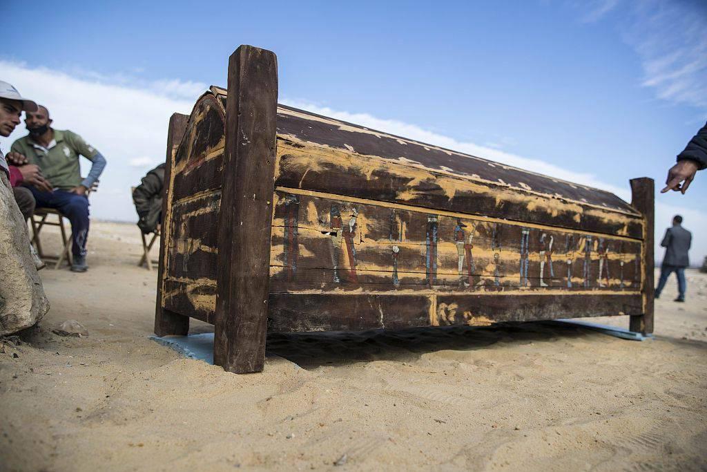 【俞强华】_埃及新出土50多具古棺木和木乃伊