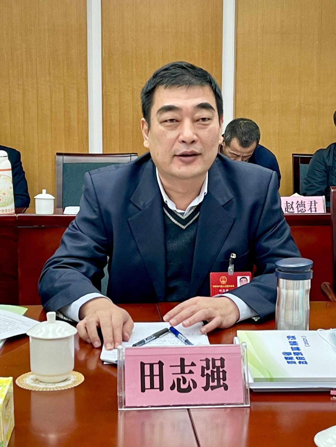 屯昌县委书记 田志强 屯昌宣传部供图