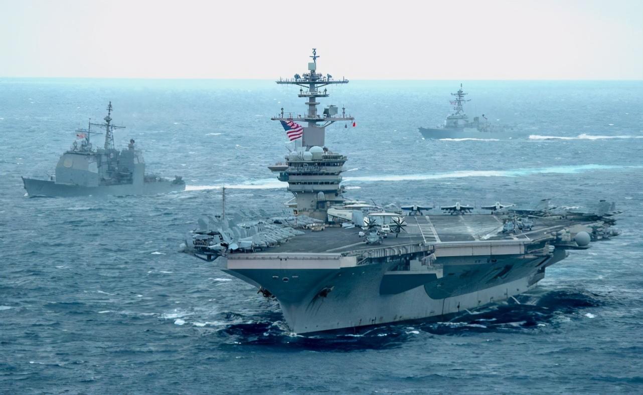美日联合军演后,美军印太司令部承认罗斯福号航母打击群进入南海