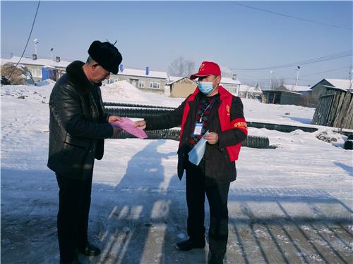 桦南:志愿服务队成为疫情防控生力军