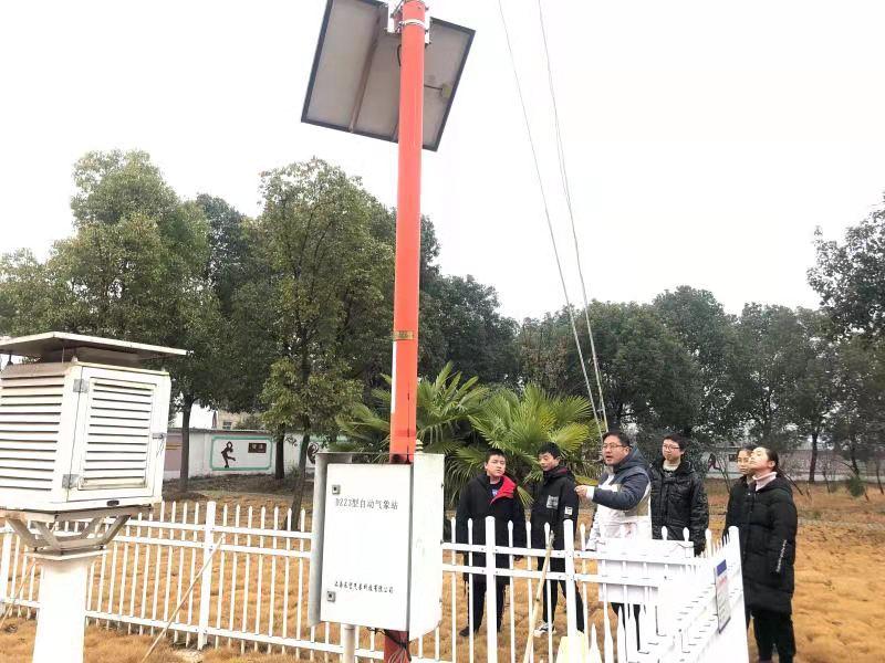 安徽省怀宁县:乡村学校成为全国气象科普教育基地(图)