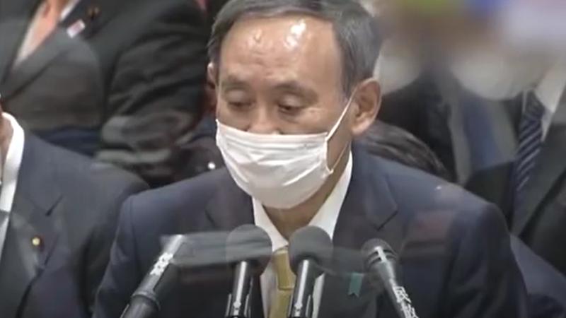 近200名确诊患者在家隔离死亡 日本首相菅义伟道歉