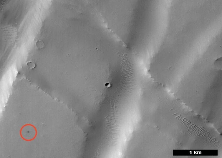 吊打NASA科学家!这个人工智能5秒就能找出火星新陨石坑